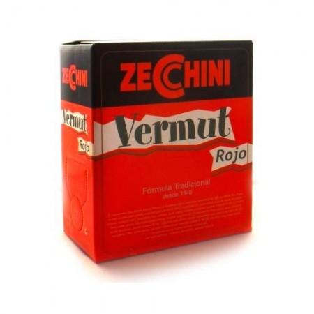 VERMUT ZECCHINI ROJO BOX 5L