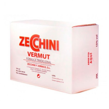 VERMUT ZECCHINI BLANCO BOX 20L